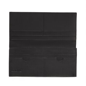 LOEWE Long Horizontal Wallet Vetiver/Black front