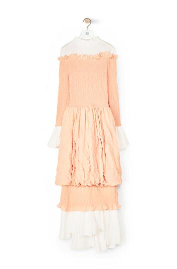 LOEWE Smock Dress Blush front
