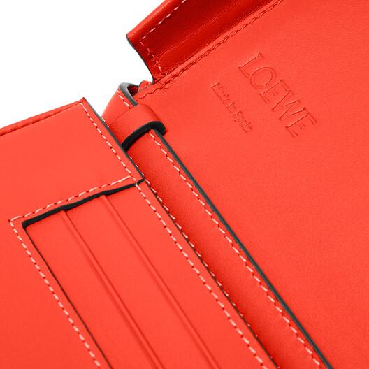 LOEWE Heel Mini Bag Vermillion front