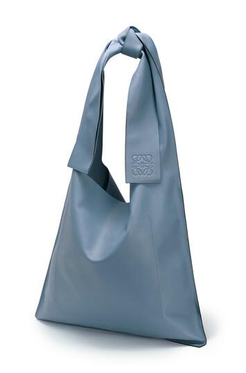 LOEWE Bolso Bow Azul Acero front