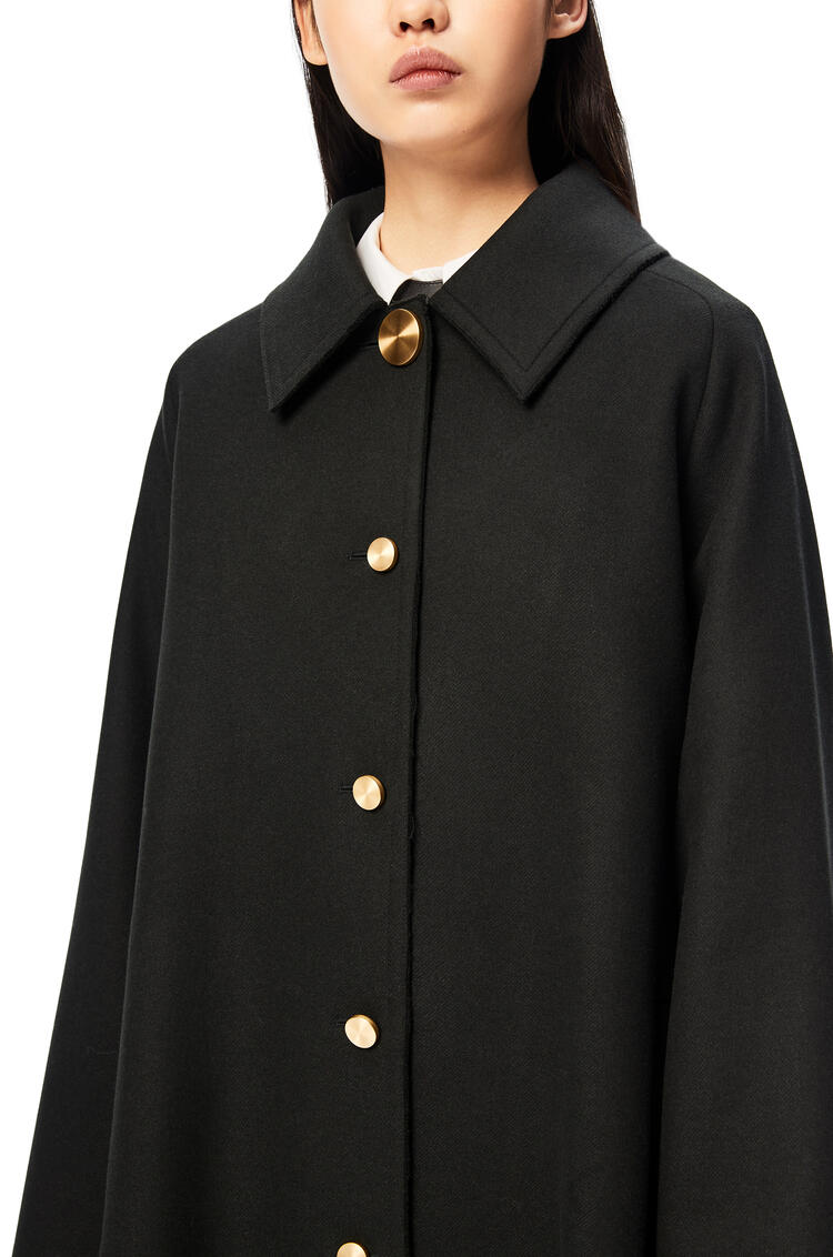 LOEWE Gold button coat Green pdp_rd