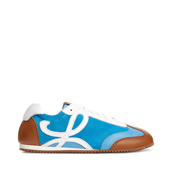 LOEWE Ballet Runner Tan/Sky Blue front