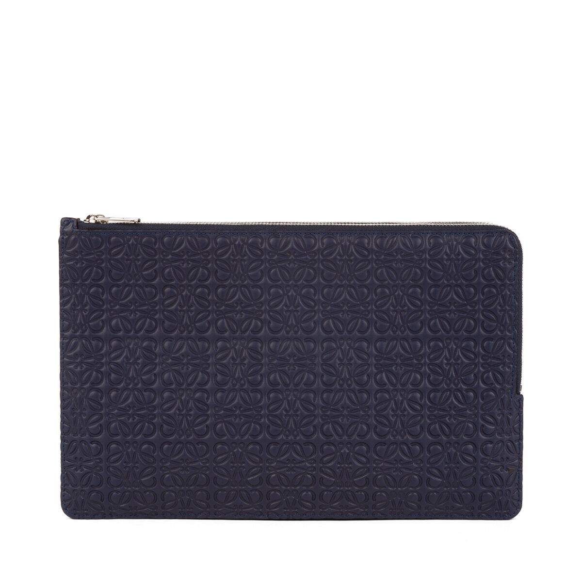 LOEWE Double Flat Pouch Marine all