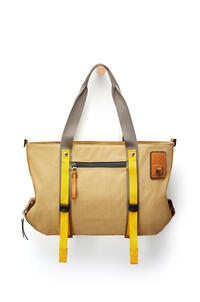 LOEWE Tote bag in canvas Gold pdp_rd