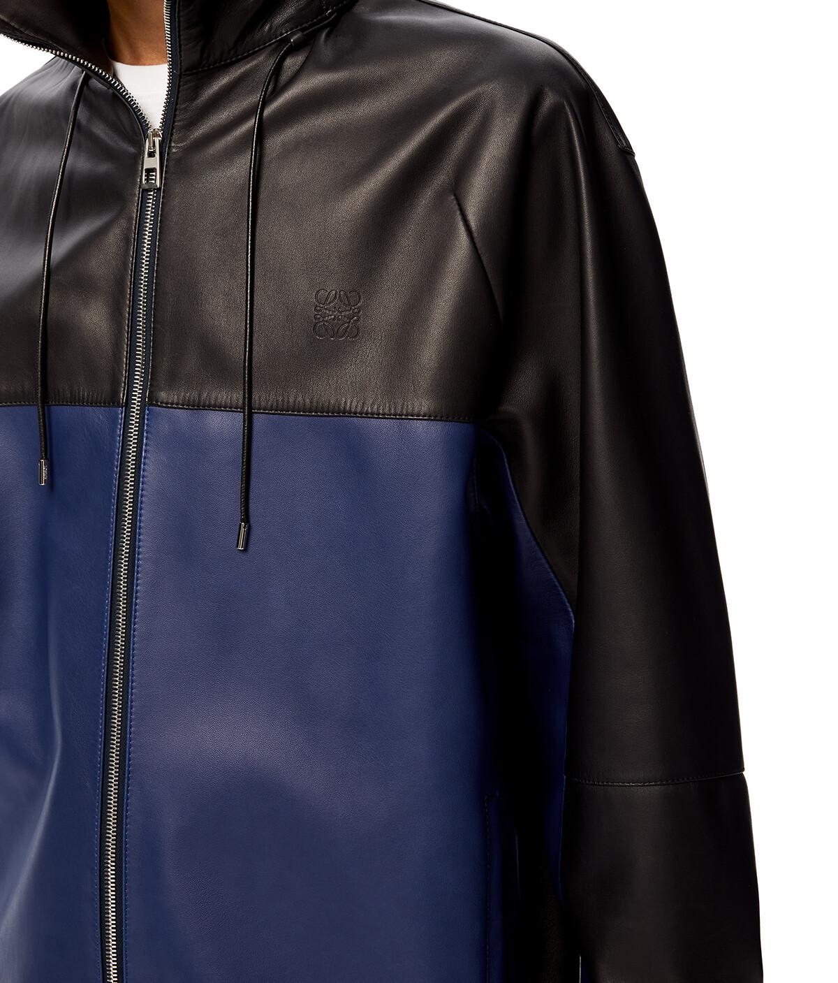 LOEWE Zip Jacket 海軍藍 front