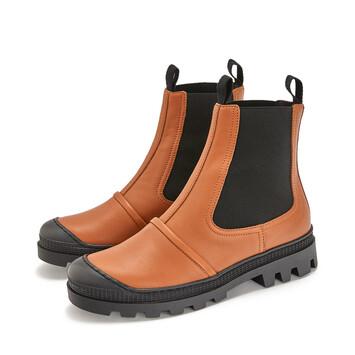 LOEWE Chelsea Boot Bronceado front