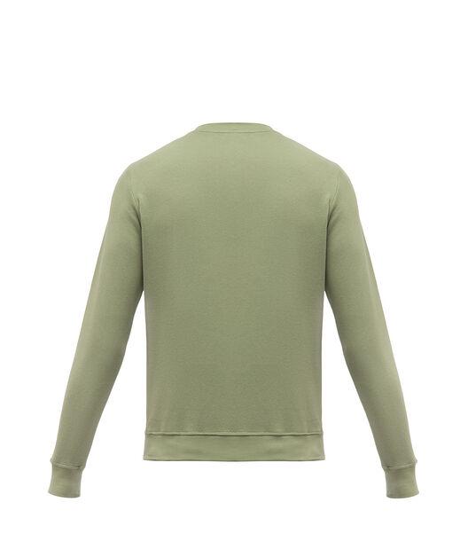 LOEWE アナグラム スエットシャツ カーキグリーン front