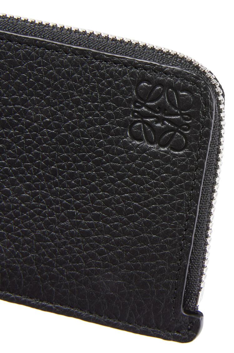 LOEWE Coin cardholder in grained calfskin Black pdp_rd