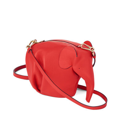 LOEWE Elephant Mini Bag Red front