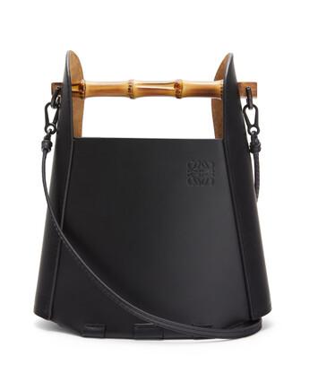 LOEWE バケット バンブー バッグ ブラック front