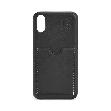 LOEWE Cover For Iphone X Black front