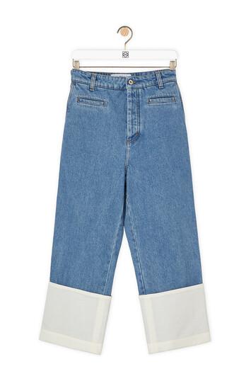 LOEWE Fisherman Stonewash Jeans 单宁蓝 front