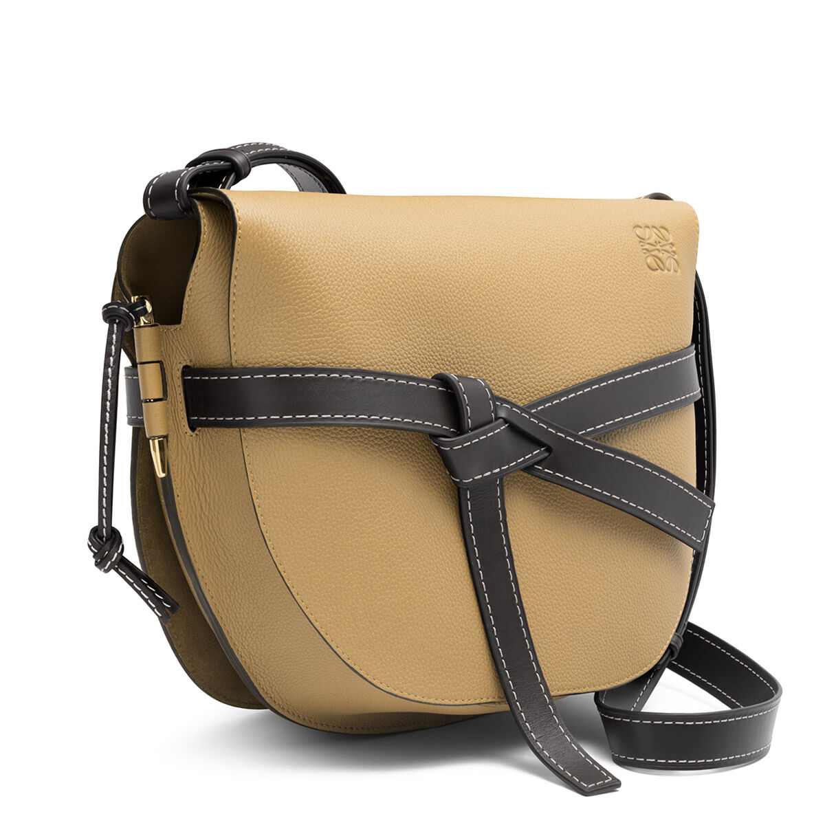 LOEWE Bolso Gate Mocca/Negro all