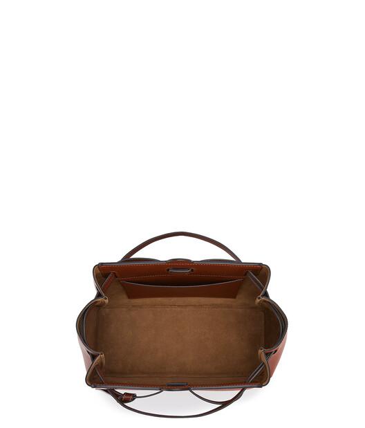LOEWE Lazo Shopper Topo Oscuro/Bronceadod front