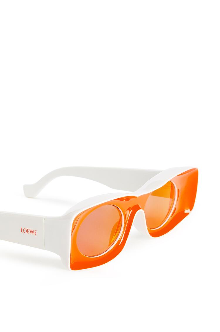 LOEWE Paula's Ibiza Original Sunglasses In Acetate Neon Orange pdp_rd