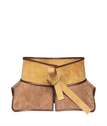LOEWE Obi Belt Gold front