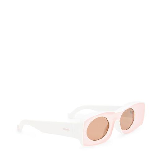 LOEWE Paula´S Original Sunglasses Pink/White front