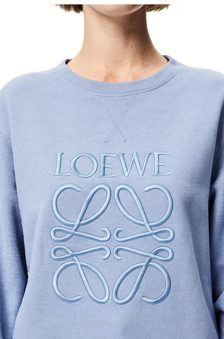 LOEWE 圆领运动衫 Dusty Blue pdp_rd