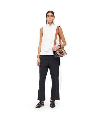 LOEWE Bib Slvless Shirt Blanco front