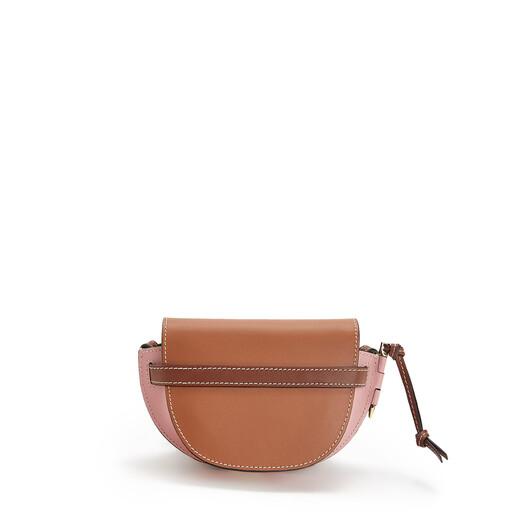 LOEWE Bolso Gate Mini Bronceado/Rosa Medio front