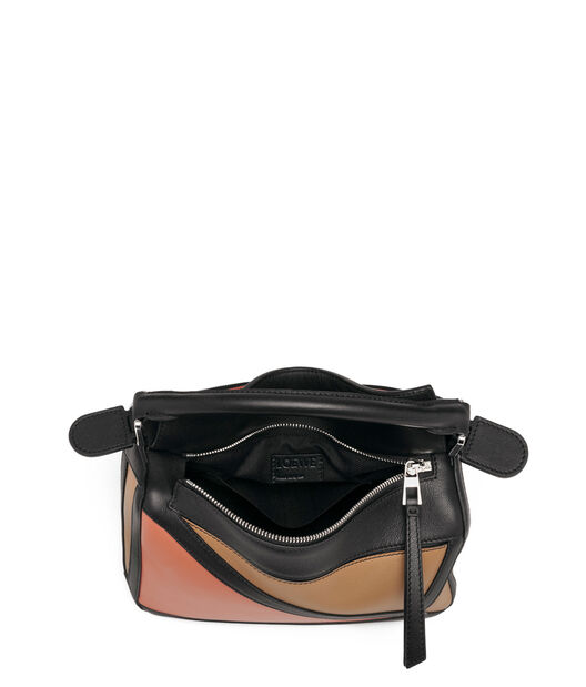 LOEWE Puzzle Graphic Small Bag Pink Tulip/Mocca all