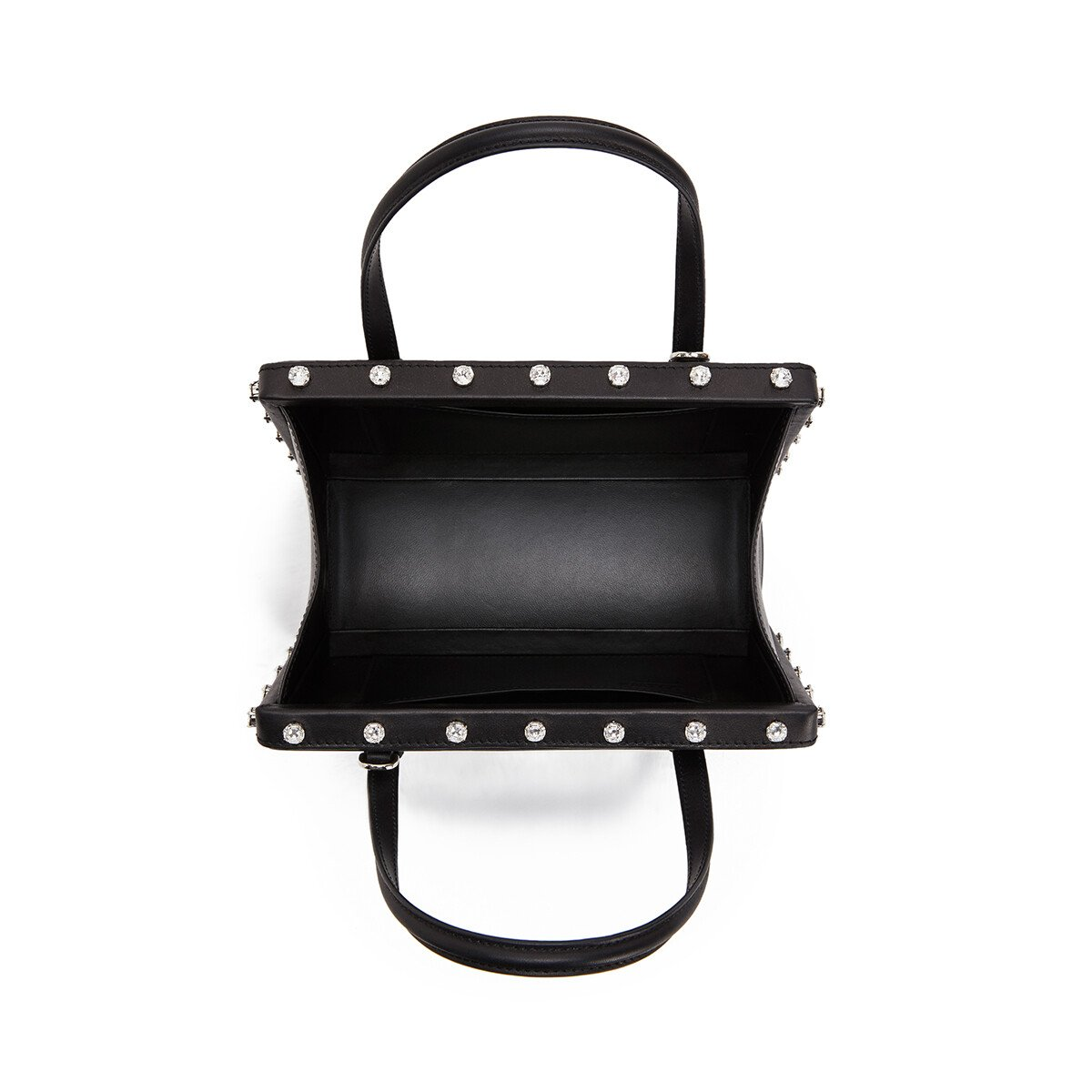 LOEWE Postal Crystals Bag 黑色 front