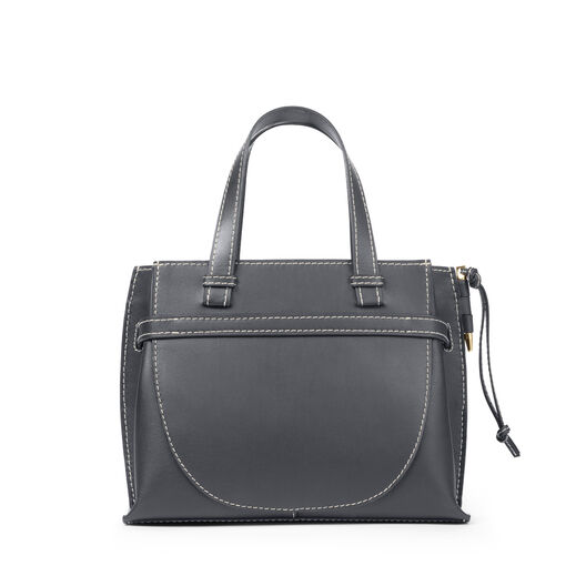 LOEWE Gate Top Handle Small Bag Midnight Blue all