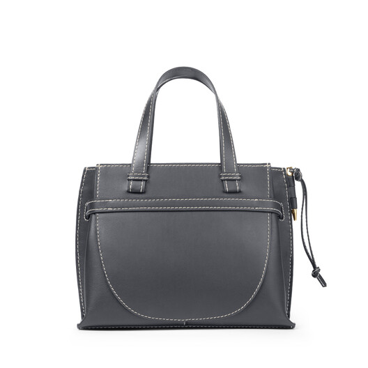 LOEWE Gate Top Handle Small Midnight Blue front
