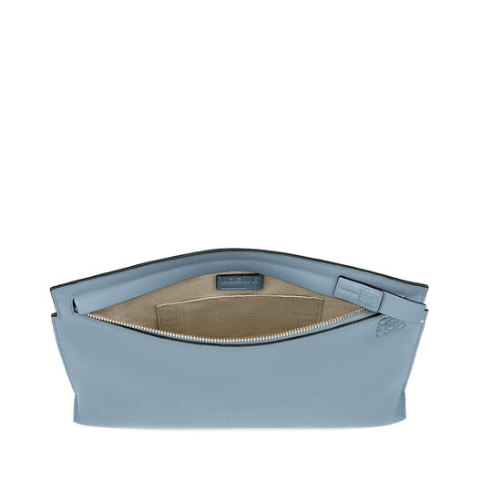 LOEWE Bolso T Pouch Azul Piedra all