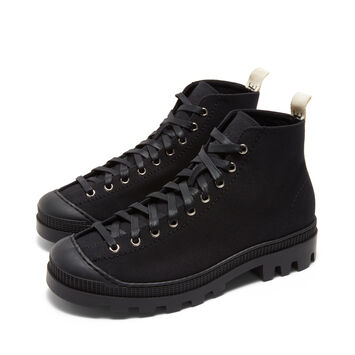 LOEWE Lace Up Boot Black front