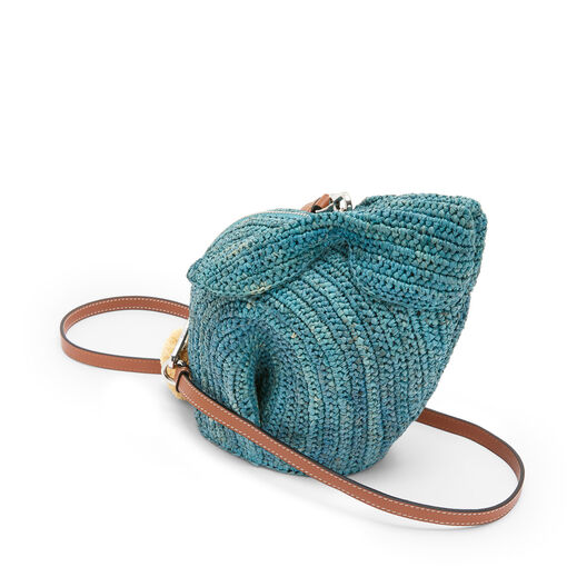 LOEWE Bunny Mini Bag Turquoise front