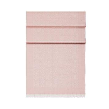 LOEWE 50X180 Bufanda Monogram Rosa Claro front