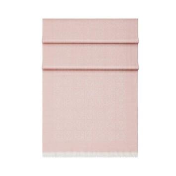 LOEWE 50X180 Scarf Monogram Light Pink front