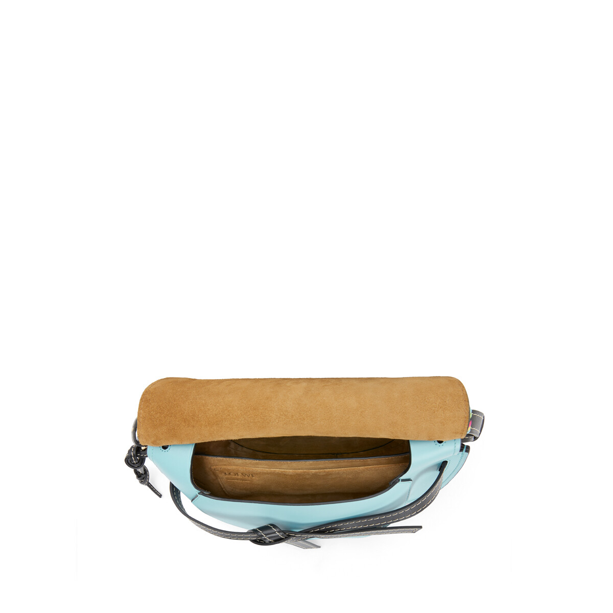 LOEWE Gate Small Bag Light Blue front