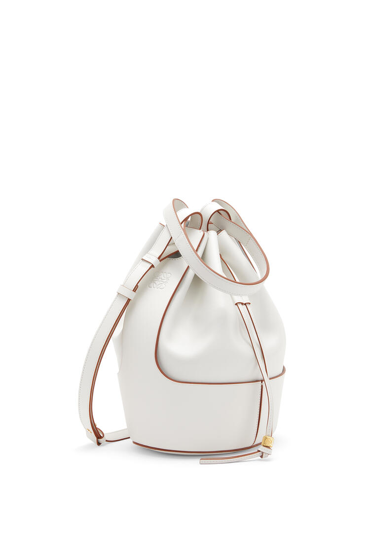 LOEWE Balloon bag in nappa calfskin Soft White pdp_rd