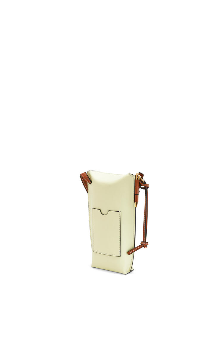 LOEWE Gate pocket in smooth calfskin Pale Lime pdp_rd
