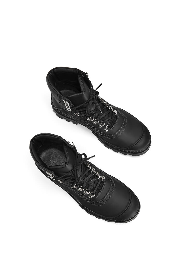 LOEWE Hiking Boot In Calfskin Black pdp_rd