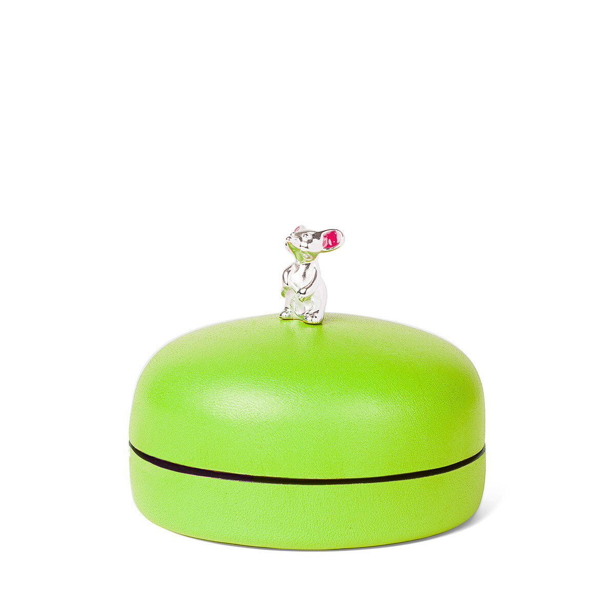 LOEWE Box Mouse Small Pistachio Green front
