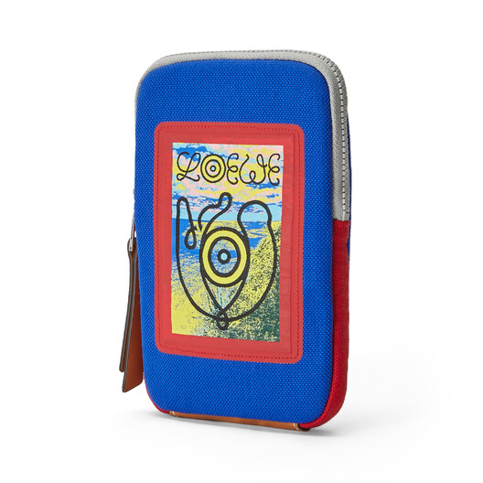 LOEWE Eye/Loewe/Nature Case Blue/Red front