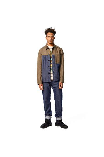 LOEWE Eln Jeans Navy Blue front