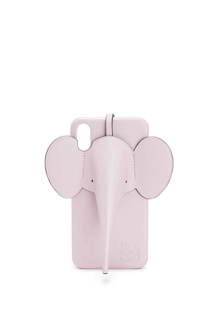 LOEWE iPhone XS Max用 エレファント カバー(パーライズド カーフスキン) Icy Pink pdp_rd