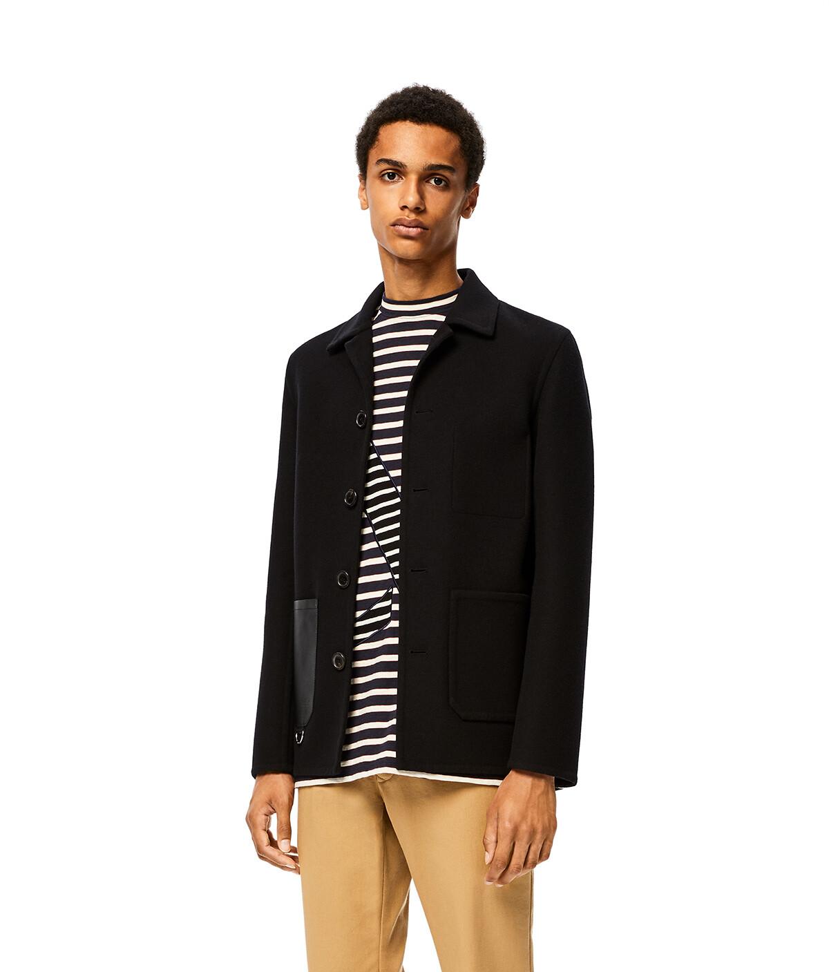 LOEWE Workwear Jacket Black front
