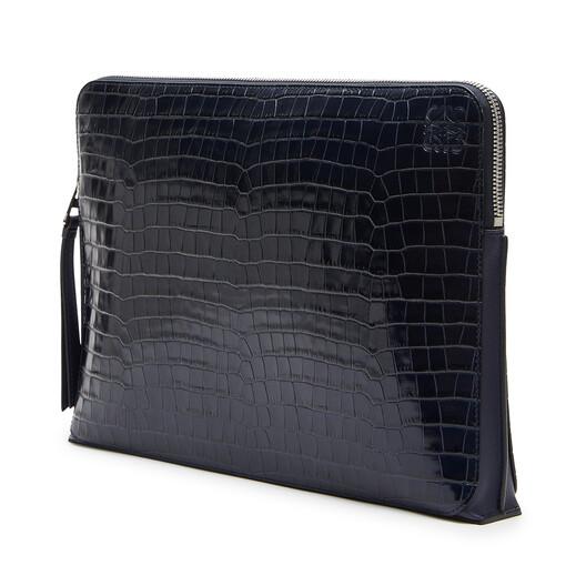 LOEWE Goya Portfolio Blue front