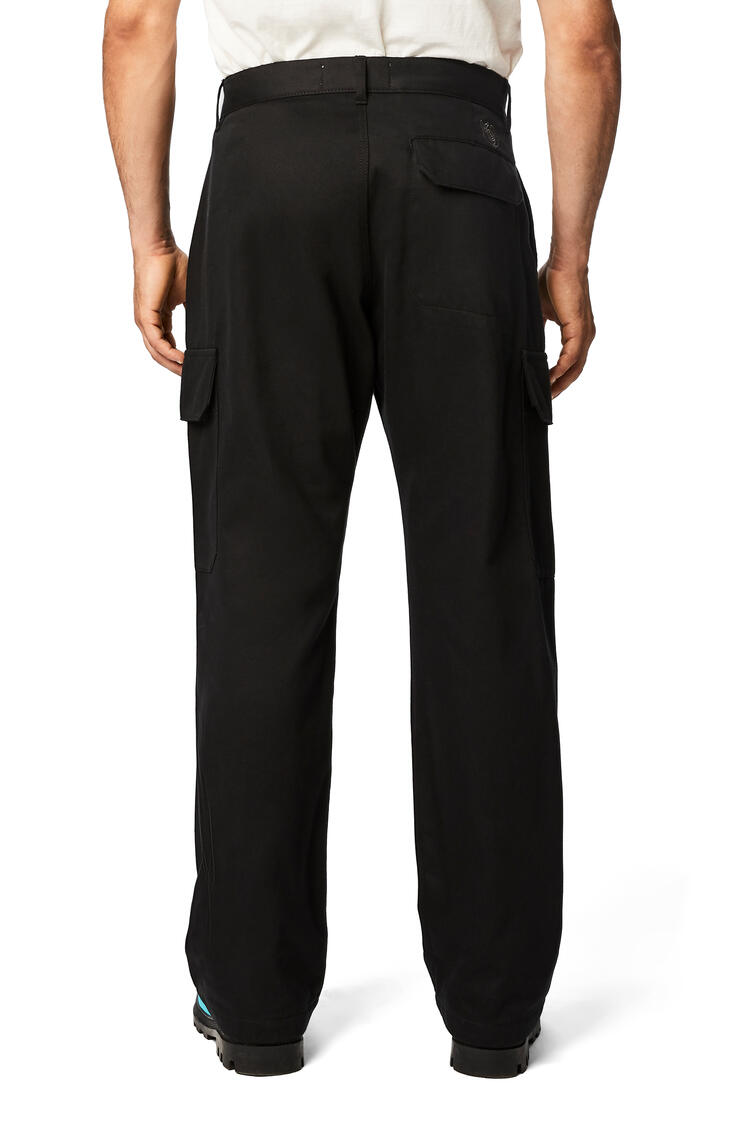 LOEWE Trousers In Cotton Black pdp_rd