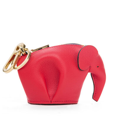 LOEWE Elephant Charm Red/Yellow front