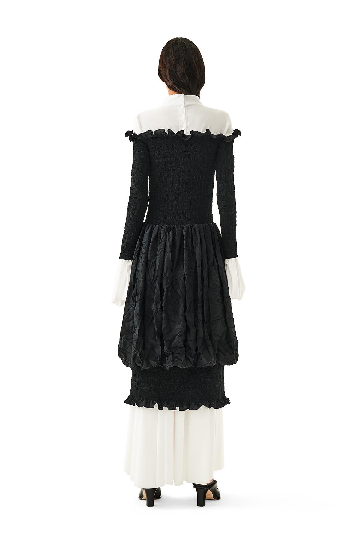 LOEWE Smock Dress 黑色 front