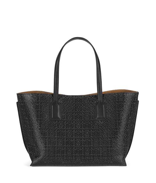 LOEWE T Shopper Bag Black all