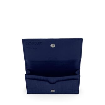 LOEWE Business Card Holder 海军蓝 front