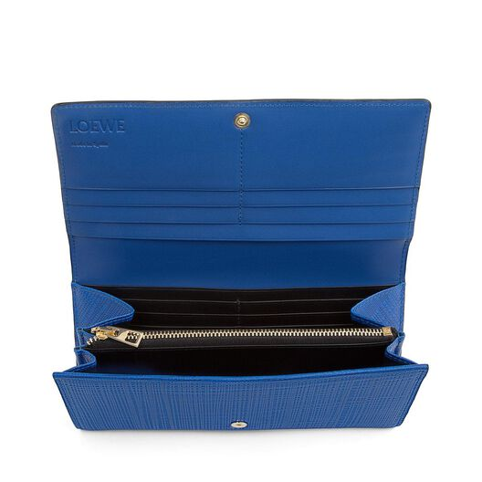 LOEWE Billetero Continental Azul Electrico front