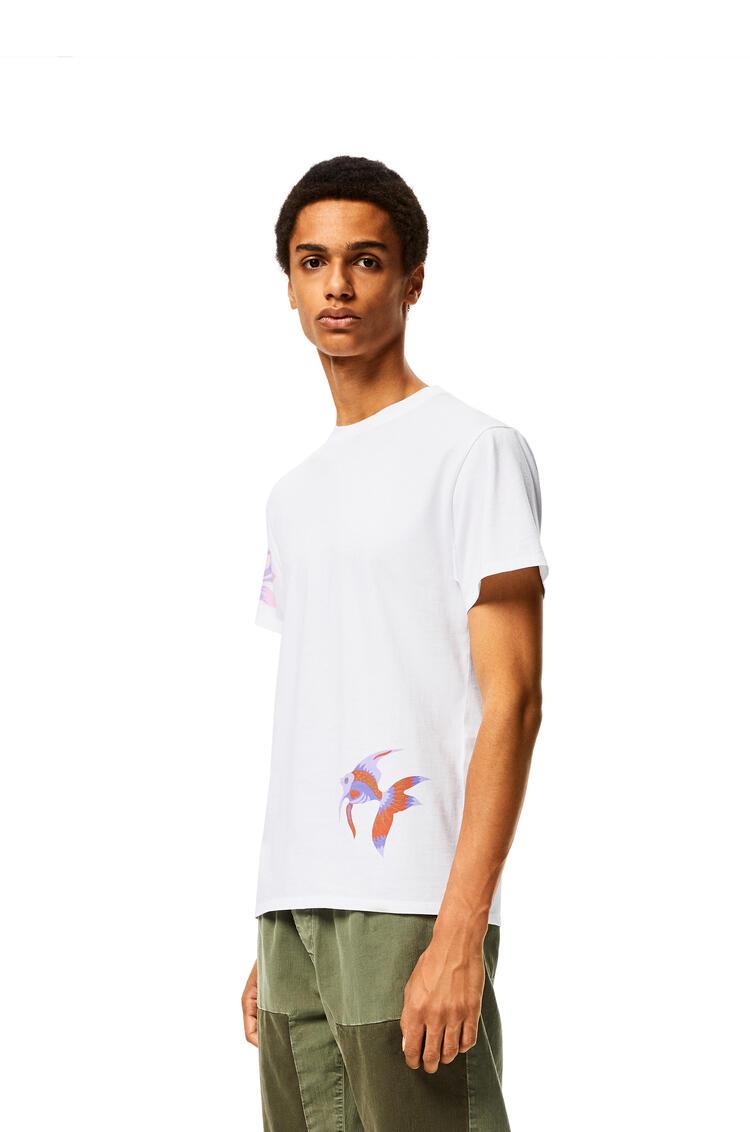 LOEWE T-shirt in mermaid cotton White pdp_rd